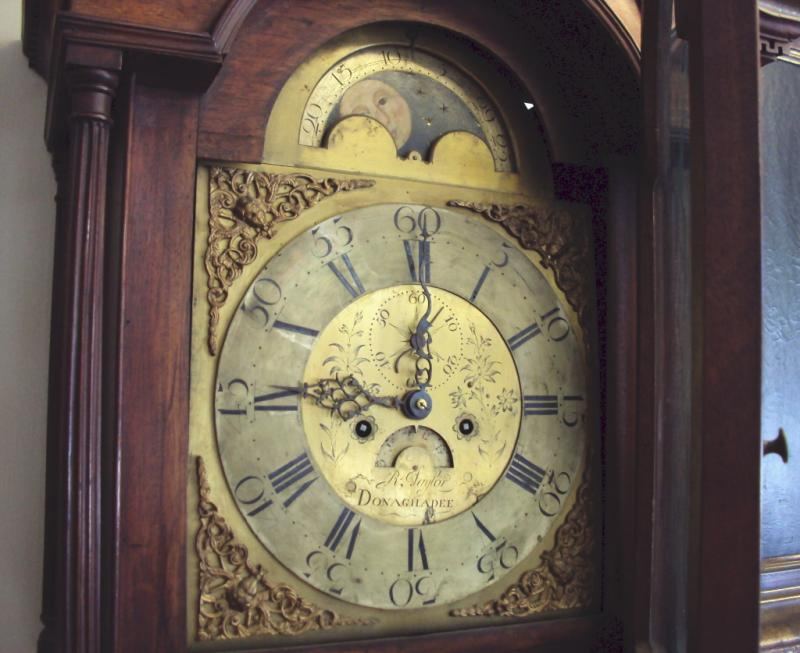 Tall Case Clock from Dungadee Ireland c. 1700's