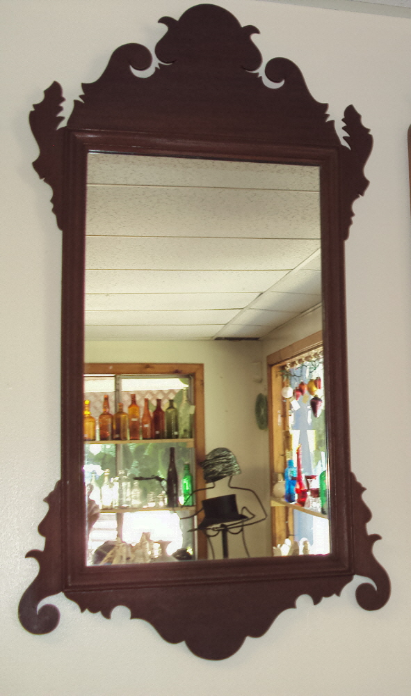 Real Chippendale Mirror c.1760 to 1780