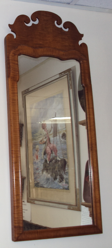 Queen Ann Mirror c.1730 to 1760