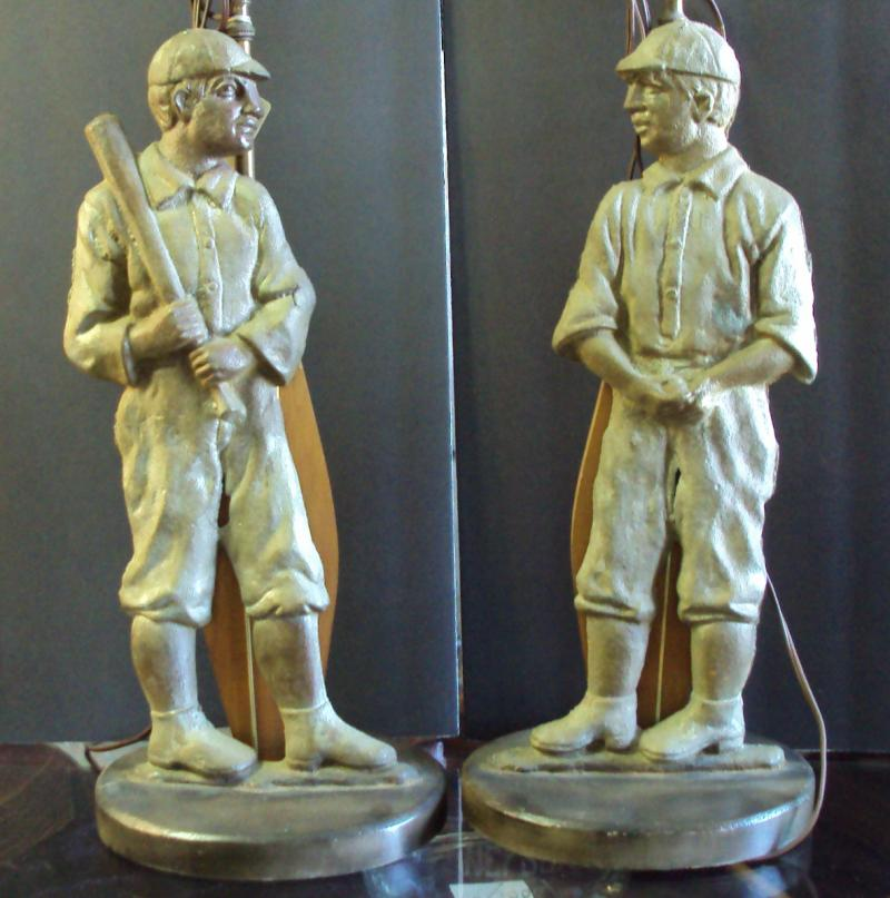 Baseball Player Lamps